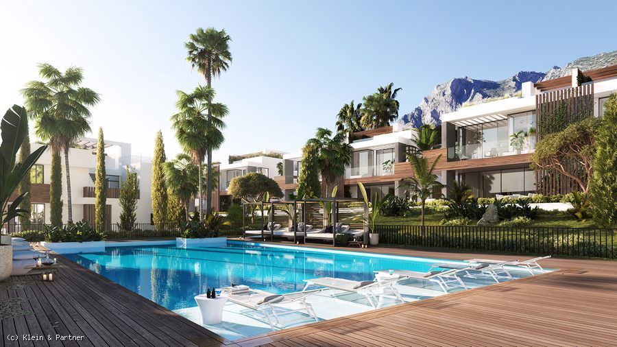 New Development Le Blanc Semi-detached Villas in Sierra Blanca