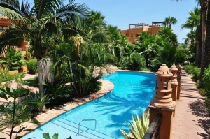 Apartments Jardines del Albaicin next to Flamingos Golf