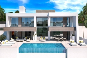 Light Blue Villas, New Development of 5 Modern Villas in El Paraiso