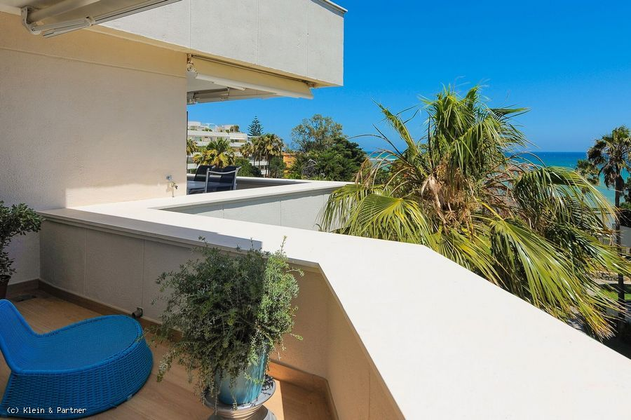 Beach Front Duplex Penthouse Los Granados Playa in Estepona's New Golden Mile