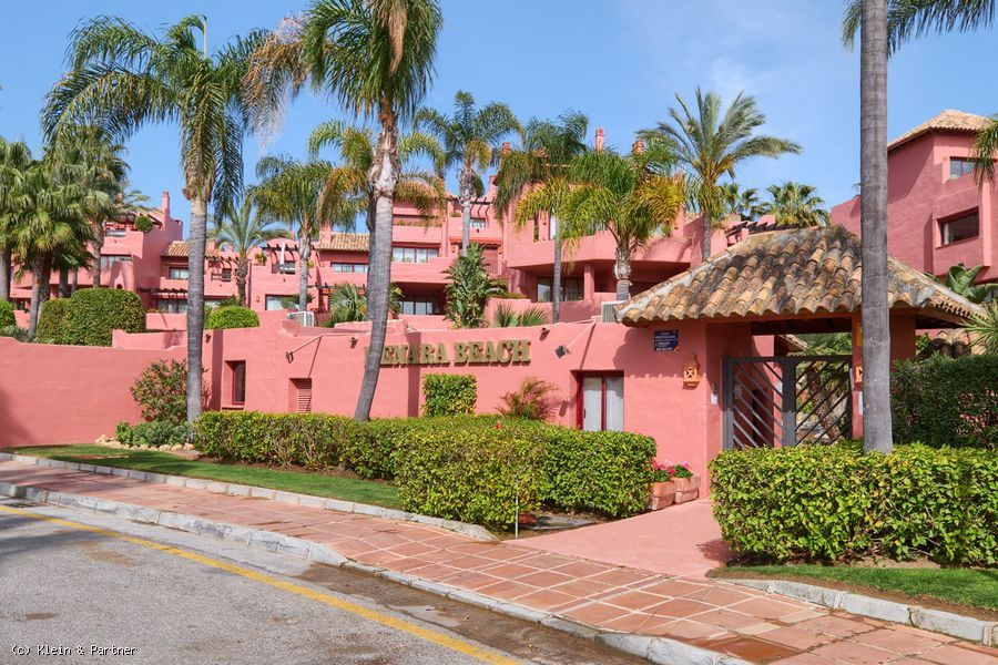 Frontline Beach Ground Floor Apartment on Estepona's New Golden Mile