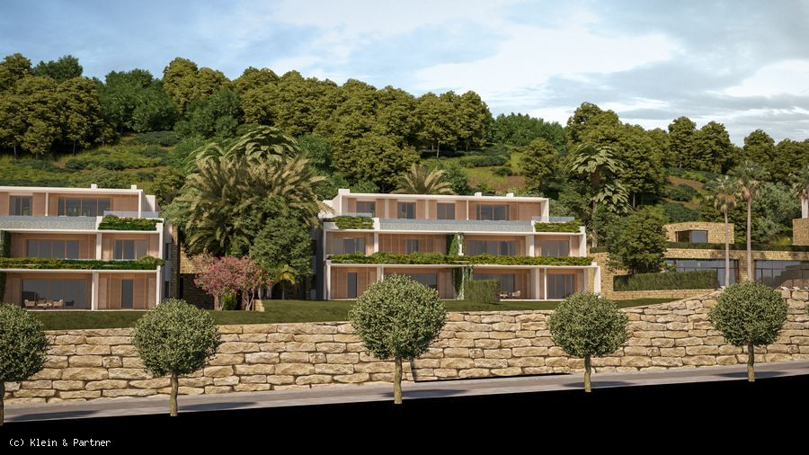 Finca Cortesin Las Albercas Apartments and Penthouses for sale in Casares